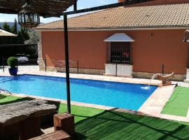 Hotel photo: house with 3 bedrooms in arriate, málaga, with wonderful mountain view, priva...