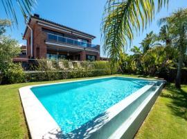 Hotel photo: Sant Vicenc de Montalt Villa Sleeps 8 Pool WiFi
