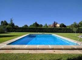 Hotel photo: villa with 6 bedrooms in villabáñez, with private pool, furnished terrace and...