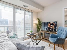 Hotel photo: Stylish 2-Bedroom Downtown Condo