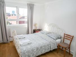 酒店照片: Double bedroom in ashared flat