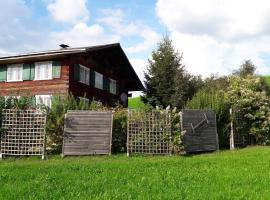 Hotel photo: Ferienhaus/Ferienwohnung Urige Hütte Bregenzerwald