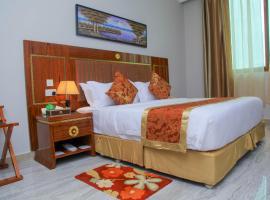 Hotel photo: Tiffany Diamond Hotel Makunganya Street