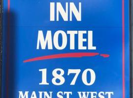 Хотел снимка: hamilton inn motel