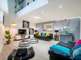 酒店照片: Stunning 2 Bedroom Apartment by the River Thames