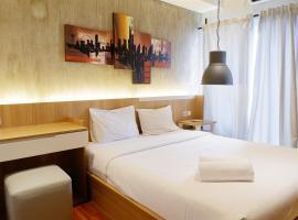 Hotel photo: Parquette Studio Apartment ARA Residence By Travelio