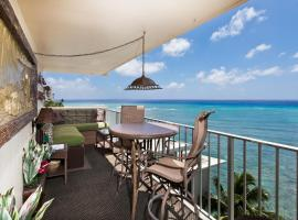 Hotel photo: Diamond Head Beach Hotel & Residences 901 - 2 Bdrms, Kitchen, Oceanfront Balcony