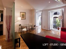 Photo de l'hôtel: Loft-estudio en Madrid centro