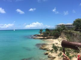 Hotel Photo: Blue Waters sea view home in Crostbies