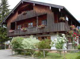 Hotel photo: Rustic Mansion in Winkl Germany near the Bavarian Alps