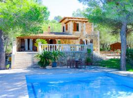 Hotel photo: Felanitx Villa Sleeps 9 Pool Air Con WiFi
