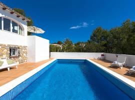 Hotel photo: Benissa Villa Sleeps 6 Pool WiFi