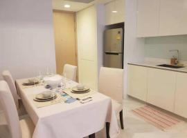 Hotel photo: 泰国曼谷素坤逸中心区全配小公寓 Hyde Sukhumvit 11