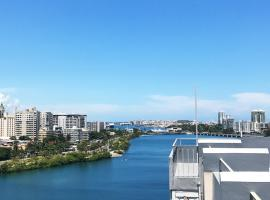 Hotel photo: Vibrant Modern Apartment in The Heart of Condado
