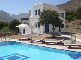 A picture of the hotel: Eden Villa Tilos
