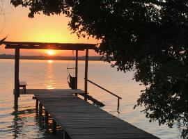 Hotel photo: Private Cabin in Bacalar with your own deck!