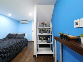 A picture of the hotel: Blue Private Room 100m to Hanoi Train Station