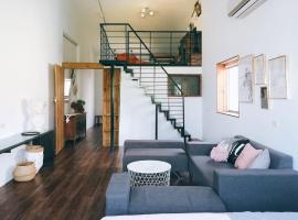 Hotel photo: Donghai Art Street Duplex Suite