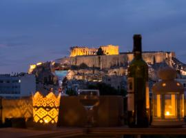 Hotel Photo: Superb Acropolis view from a brand new Apt