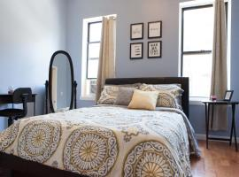 A picture of the hotel: Spacious Uptown Manhattan Bedroom
