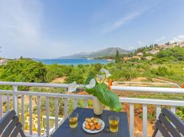 Hotel photo: apartments elica - superior studio apartment with balcony and sea view (jakša)