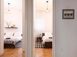 Hotel photo: Modern Spacious 3BDR Apartment in heart of Zagreb