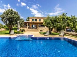 Hotel photo: villa with 5 bedrooms in colònia de sant jordi, with private pool, enclosed g...