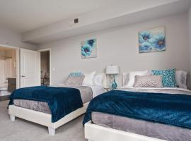 Hotel photo: Lovely 2bed/2bath/5 beds/Parking/Great Location!