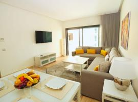 酒店照片: Superb apartment 100 m2 in central Casablanca