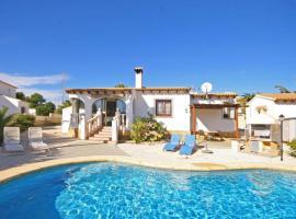 Hotel photo: Calpe Villa Sleeps 4 Pool WiFi