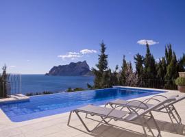 Hotel photo: Calpe Villa Sleeps 6 Pool WiFi