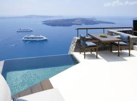 Hotel photo: Firostefani Villa Sleeps 2 Air Con WiFi