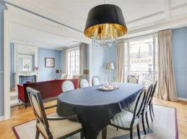 Hotel photo: a luxurious three-bedroom apartment