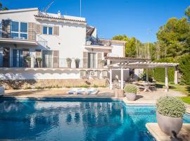 Hotel photo: Costa de la Calma Villa Sleeps 9 Pool Air Con WiFi