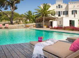 Hotel photo: s'Estanyol de Migjorn Villa Sleeps 17 Pool WiFi