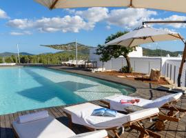 Hotel foto: Sant Joan de Labritja Villa Sleeps 14 Pool Air Con