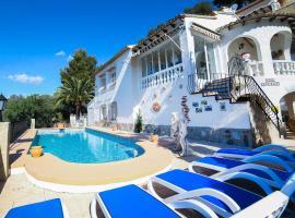 Hotel photo: Benissa Villa Sleeps 8 Pool Air Con WiFi