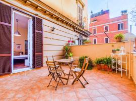 ホテル写真: Cosy 1 bed with large terrace near St.Peter's