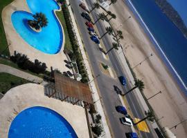 A picture of the hotel: Depto. Primera Linea Avda. del mar