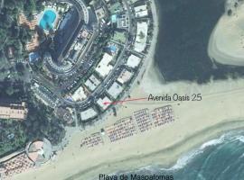 酒店照片: Meloneras Villa Sleeps 8 Pool Air Con WiFi