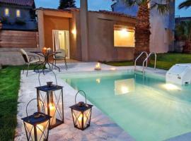 Hotel photo: Agkisaras Villa Sleeps 4 Pool Air Con WiFi