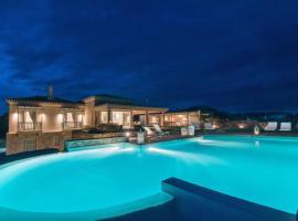 Hotel photo: Petrothalassa Villa Sleeps 10 Pool Air Con WiFi
