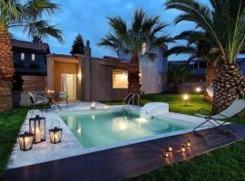 Hotel photo: Agkisaras Villa Sleeps 3 Pool Air Con WiFi