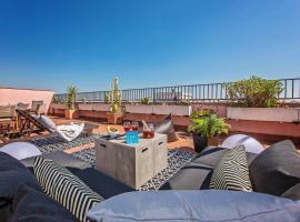 A picture of the hotel: pedrera atic
