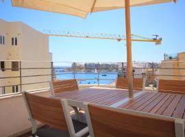 Hotel photo: Spinola Bay 2 Bedroom Duplex with amazing Terrace