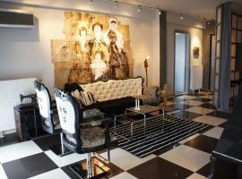 Zdjęcie hotelu: Black&White Artistic Luxury Apartment