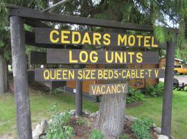 Hotel photo: The Cedars Motel