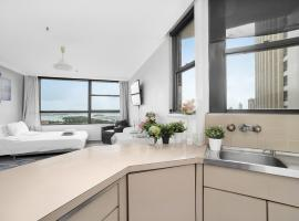 Hotel photo: AMAZING! LUXURY CBD APT WITH SKYLINE VIEWS