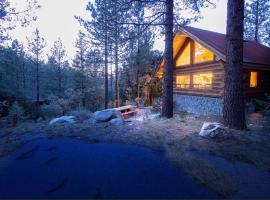 酒店照片: Log Cabin Get Away: A Perfect Mountain Retreat