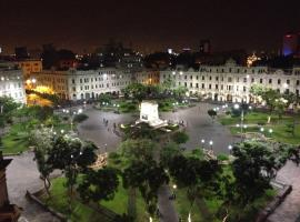 Hotel photo: HEART OF PLAZA SAN MARTIN - SHARED APARTMENT